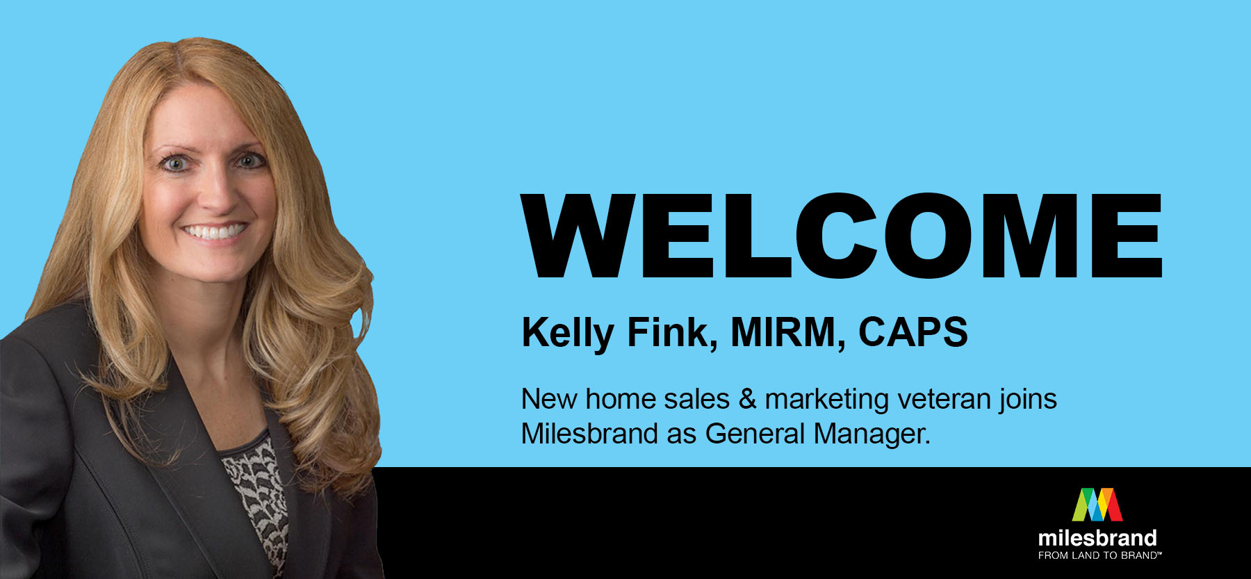New Home Sales & Marketing Veteran Kelly Fink Joins As General Manager