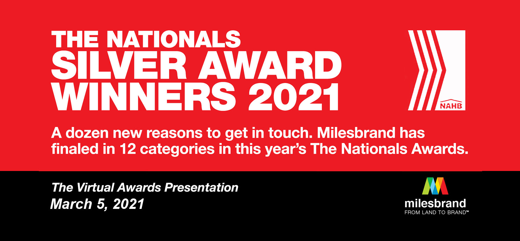 The Nationals Silver Award Winners 2021